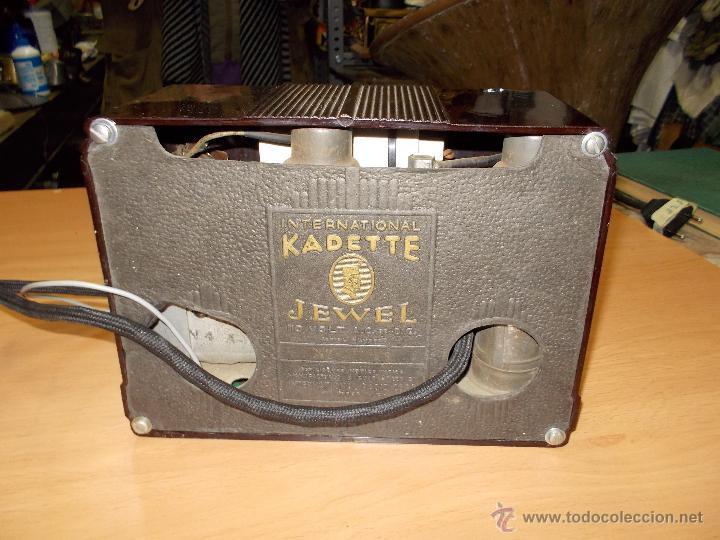 Radios de válvulas: Radio Kedette Jewell FUNCIONANDO - Foto 15 - 180015332
