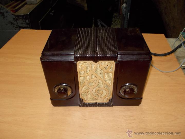 Radios de válvulas: Radio Kedette Jewell FUNCIONANDO - Foto 16 - 180015332