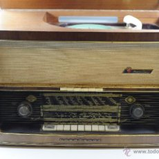 Radios de válvulas: RADIO / TOCADISCOS VÁLVULAS NORDMENDE PHONO-SUPER 58 3D WITH TURNTABLE MADE 1957.. Lote 53904960