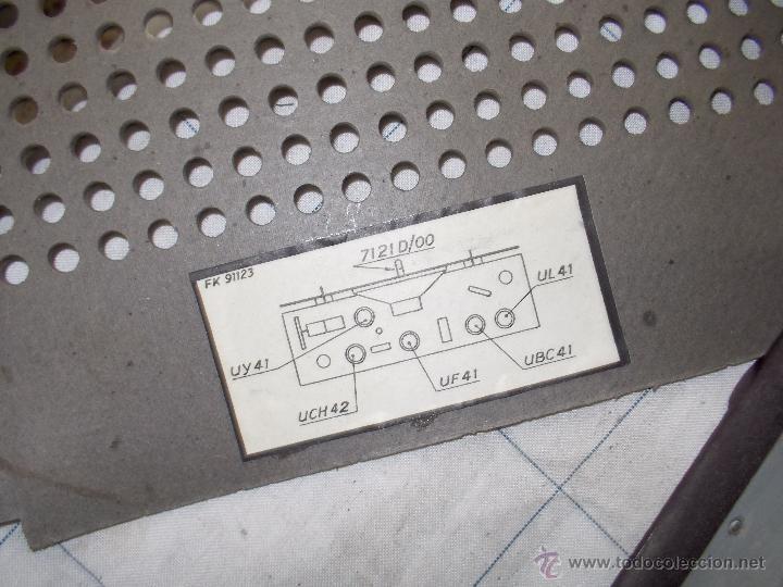 Radios de válvulas: Radiola Type RA11-U - Foto 3 - 54104956