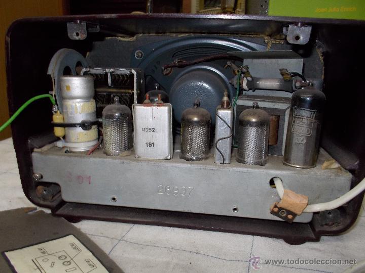 Radios de válvulas: Radiola Type RA11-U - Foto 4 - 54104956