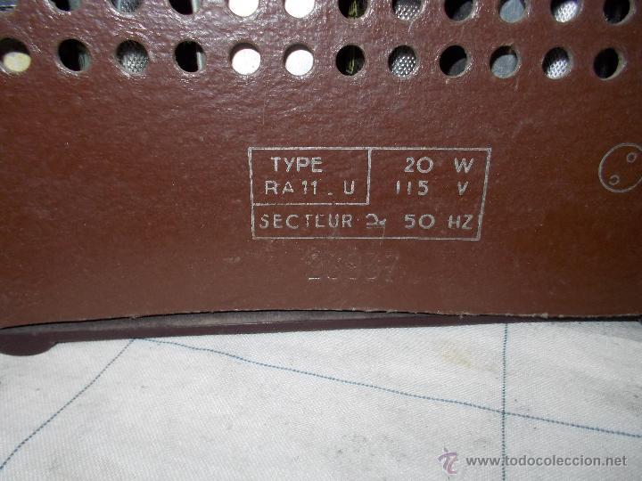 Radios de válvulas: Radiola Type RA11-U - Foto 6 - 54104956