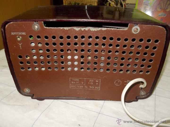 Radios de válvulas: Radiola Type RA11-U - Foto 7 - 54104956