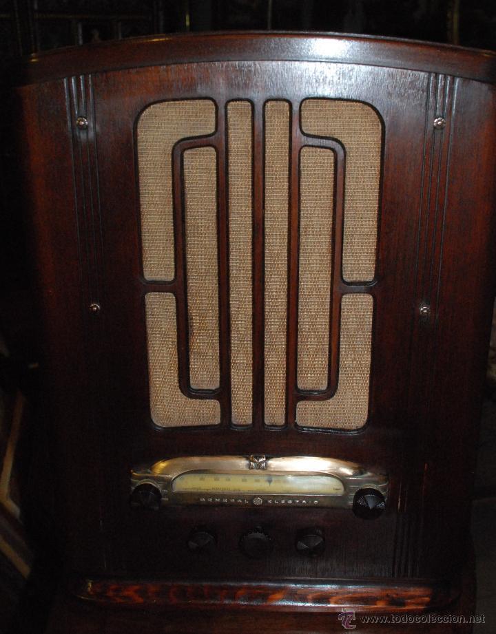 ESPECTACULAR RADIO GENERAL ELECTRIC AÑOS 40 FUNCIONANDO (Radios, Gramófonos, Grabadoras y Otros - Radios de Válvulas)