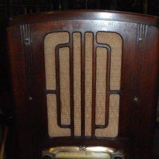 Radios de válvulas: ESPECTACULAR RADIO GENERAL ELECTRIC AÑOS 40 FUNCIONANDO. Lote 54407641