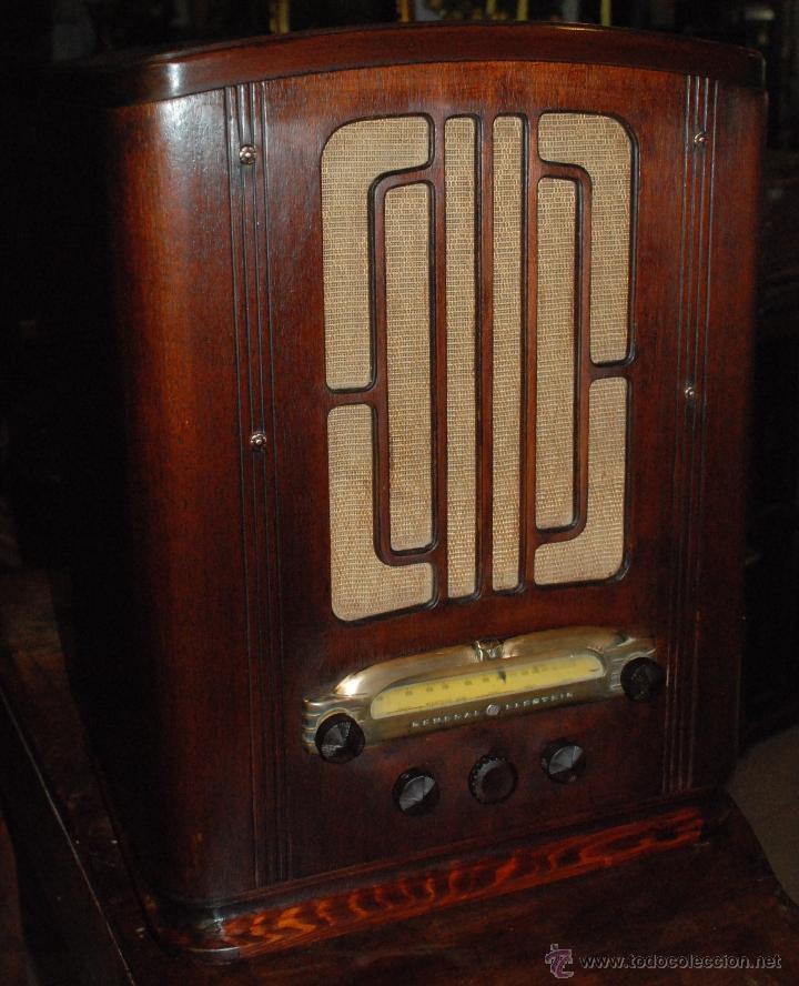 Radios de válvulas: ESPECTACULAR RADIO GENERAL ELECTRIC AÑOS 40 FUNCIONANDO - Foto 2 - 54407641