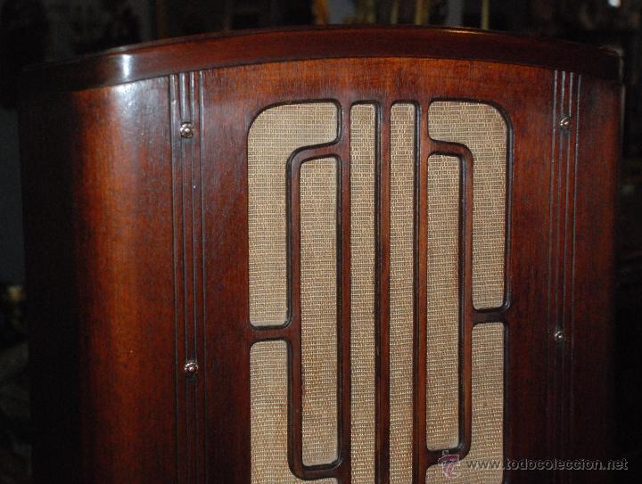 Radios de válvulas: ESPECTACULAR RADIO GENERAL ELECTRIC AÑOS 40 FUNCIONANDO - Foto 3 - 54407641