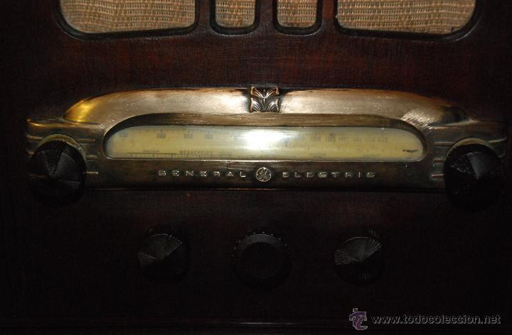 Radios de válvulas: ESPECTACULAR RADIO GENERAL ELECTRIC AÑOS 40 FUNCIONANDO - Foto 4 - 54407641