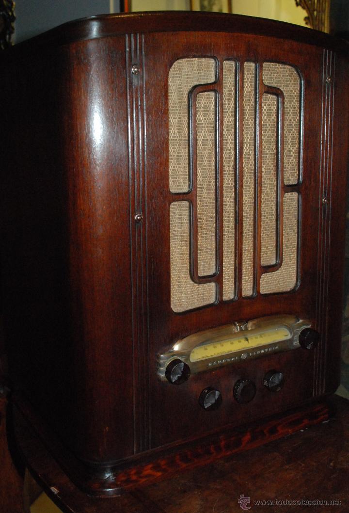 Radios de válvulas: ESPECTACULAR RADIO GENERAL ELECTRIC AÑOS 40 FUNCIONANDO - Foto 7 - 54407641