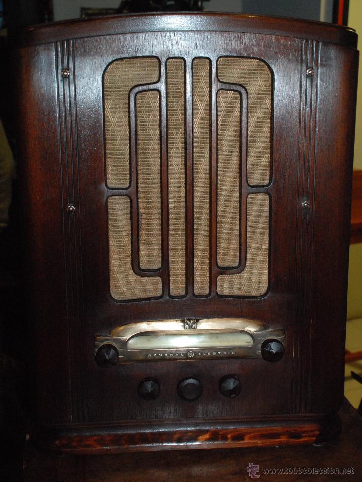 Radios de válvulas: ESPECTACULAR RADIO GENERAL ELECTRIC AÑOS 40 FUNCIONANDO - Foto 8 - 54407641