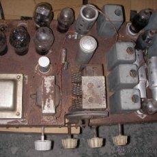 Radios de válvulas: ANTIGUO CHASIS DE RADIO A LAMPARAS O VALVULAS. Lote 54527800
