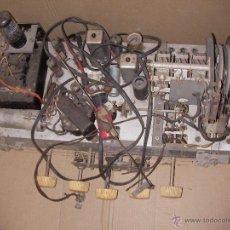 Radios de válvulas: ANTIGUO CHASIS DE RADIO A LAMPARAS O VALVULAS. Lote 54527812