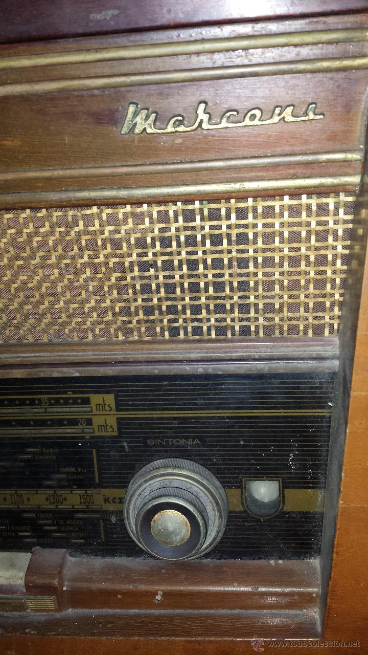 Radios de válvulas: RADIO MARCONI - Foto 2 - 54590620