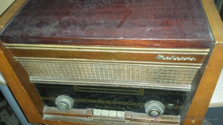 Radios de válvulas: RADIO MARCONI - Foto 5 - 54590620