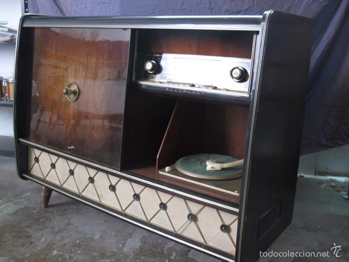 MUEBLE MUSICAL BLAUPUNKT AÑOS 40 (Radios, Gramófonos, Grabadoras y Otros - Radios de Válvulas)