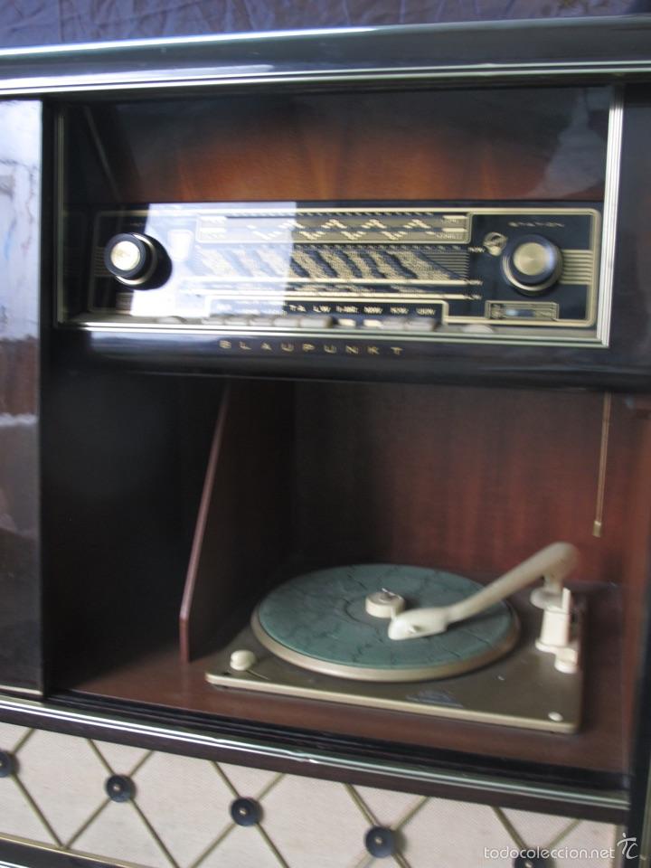 Radios de válvulas: Mueble musical Blaupunkt años 40 - Foto 5 - 54809317