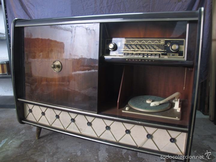 Radios de válvulas: Mueble musical Blaupunkt años 40 - Foto 7 - 54809317