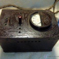 Radios de válvulas: ANTIGUO TRANSFORMADOR-ELEVADOR. DCA. AÑOS 40. DESCRIPCION Y FOTOS.. Lote 55021209