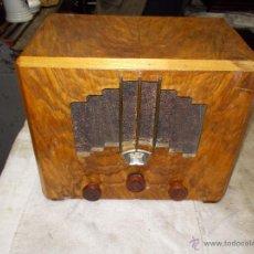 Radios de válvulas: RADIO FRANCESA SIN MARCA. Lote 55037209