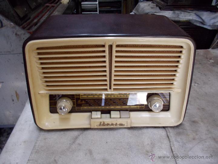 RADIO IBERIA D-312 (Radios, Gramófonos, Grabadoras y Otros - Radios de Válvulas)