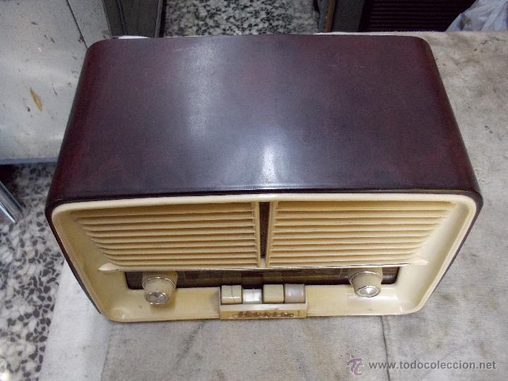Radios de válvulas: Radio Iberia D-312 - Foto 2 - 55077308