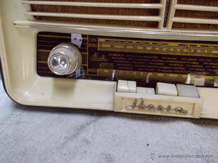 Radios de válvulas: Radio Iberia D-312 - Foto 6 - 55077308