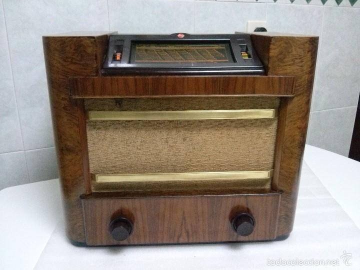 Radios de válvulas: ANTIGUA PHILIPS 695 A (1936) FUNCIONANDO Y EN BUEN ESTADO . VER VÍDEO - Foto 6 - 55158880