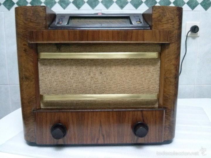 Radios de válvulas: ANTIGUA PHILIPS 695 A (1936) FUNCIONANDO Y EN BUEN ESTADO . VER VÍDEO - Foto 9 - 55158880