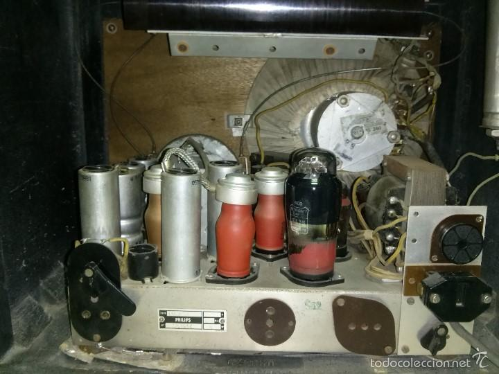 Radios de válvulas: ANTIGUA PHILIPS 695 A (1936) FUNCIONANDO Y EN BUEN ESTADO . VER VÍDEO - Foto 10 - 55158880