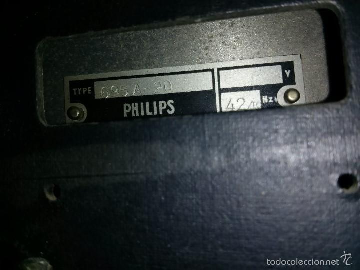 Radios de válvulas: ANTIGUA PHILIPS 695 A (1936) FUNCIONANDO Y EN BUEN ESTADO . VER VÍDEO - Foto 13 - 55158880