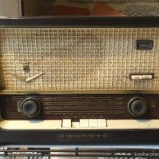 Radios de válvulas: RADIO GRUNDIG TYPE 997 WE. Lote 56201718