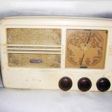 Radios de válvulas: RADIO ANTIGUA DE VÁLVULAS GRANDES, FUNCIONANDO. Lote 56374493