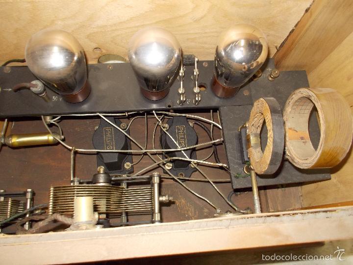 Radios de válvulas: Radio cofre años 20 - Foto 3 - 56535215