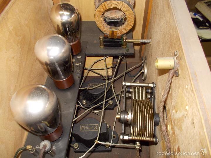 Radios de válvulas: Radio cofre años 20 - Foto 4 - 56535215
