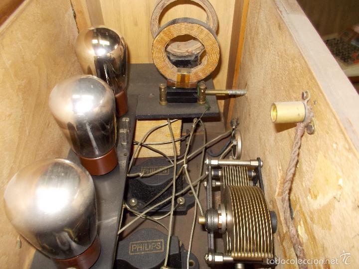 Radios de válvulas: Radio cofre años 20 - Foto 6 - 56535215