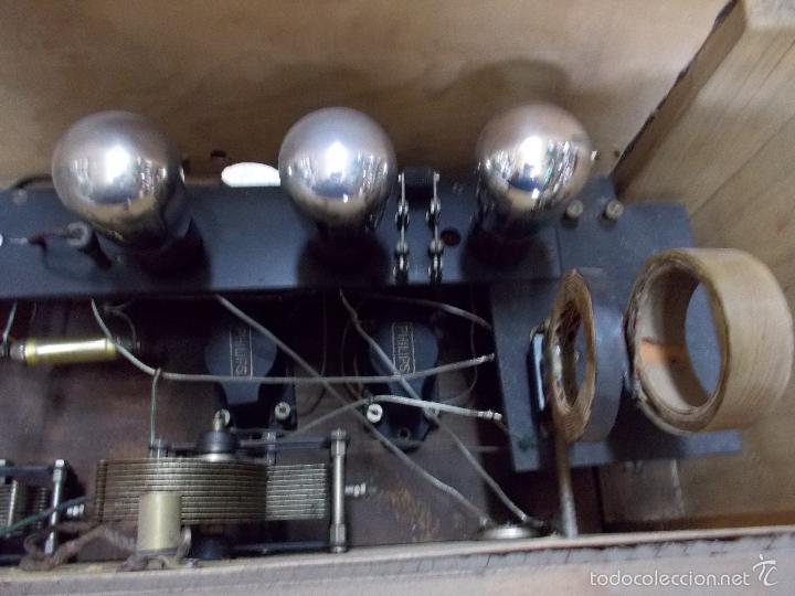 Radios de válvulas: Radio cofre años 20 - Foto 8 - 56535215