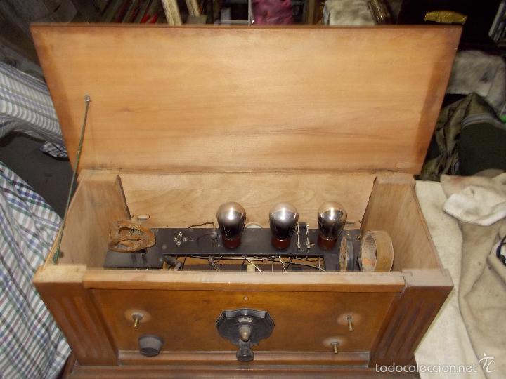 Radios de válvulas: Radio cofre años 20 - Foto 11 - 56535215