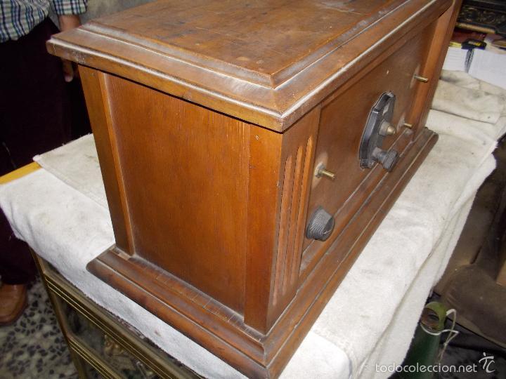 Radios de válvulas: Radio cofre años 20 - Foto 19 - 56535215