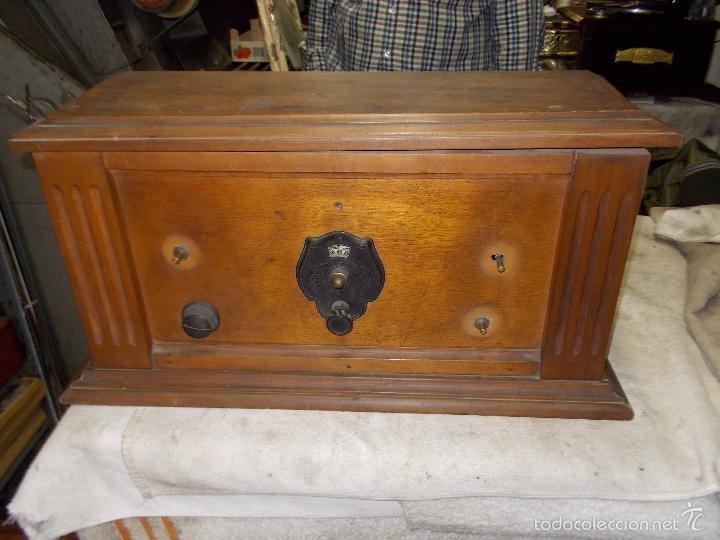 Radios de válvulas: Radio cofre años 20 - Foto 21 - 56535215
