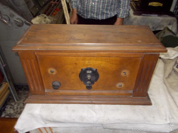 Radios de válvulas: Radio cofre años 20 - Foto 23 - 56535215