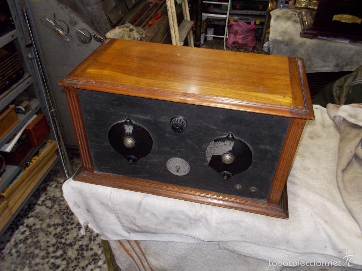 RADIO COFRE AÑOS 20 (Radios, Gramófonos, Grabadoras y Otros - Radios de Válvulas)