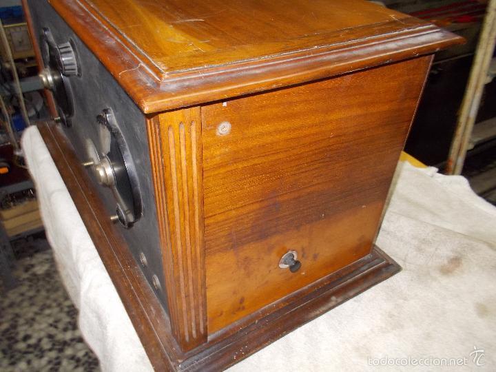 Radios de válvulas: Radio cofre años 20 - Foto 2 - 56535279