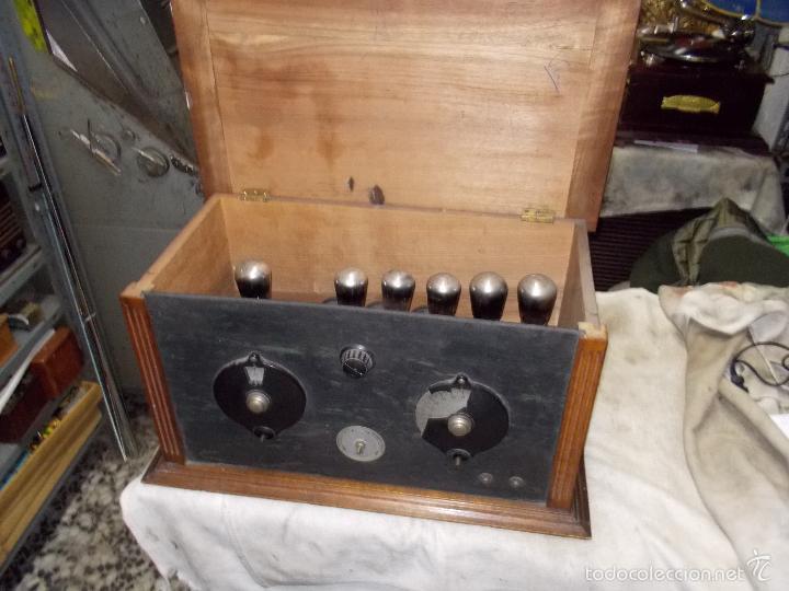 Radios de válvulas: Radio cofre años 20 - Foto 3 - 56535279