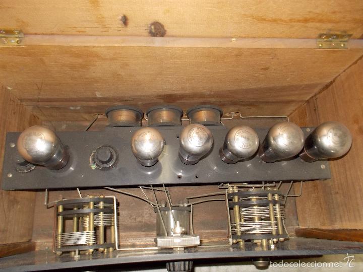 Radios de válvulas: Radio cofre años 20 - Foto 4 - 56535279