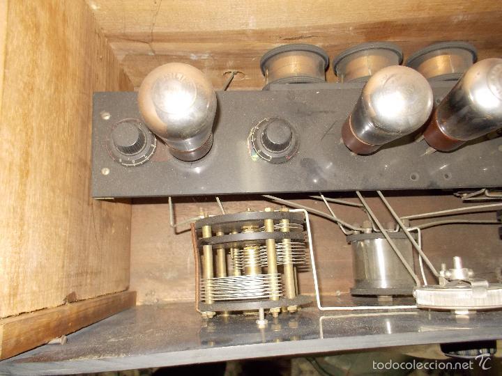 Radios de válvulas: Radio cofre años 20 - Foto 6 - 56535279
