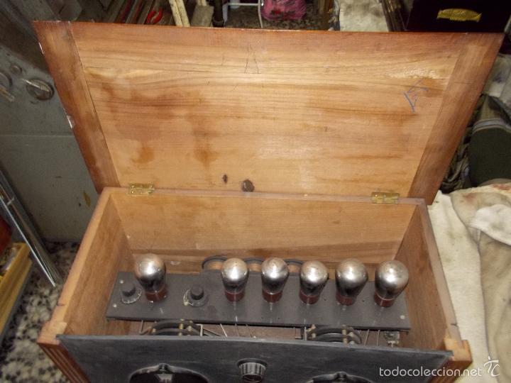 Radios de válvulas: Radio cofre años 20 - Foto 8 - 56535279