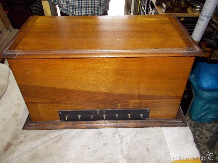 Radios de válvulas: Radio cofre años 20 - Foto 10 - 56535279