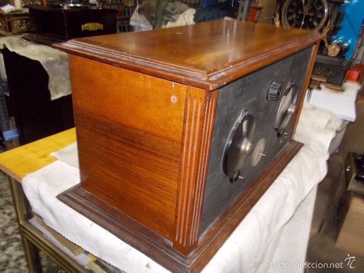 Radios de válvulas: Radio cofre años 20 - Foto 14 - 56535279