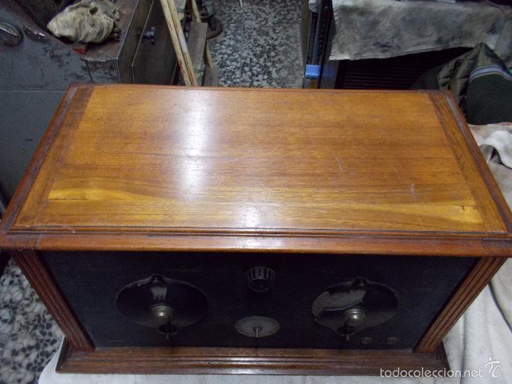 Radios de válvulas: Radio cofre años 20 - Foto 15 - 56535279