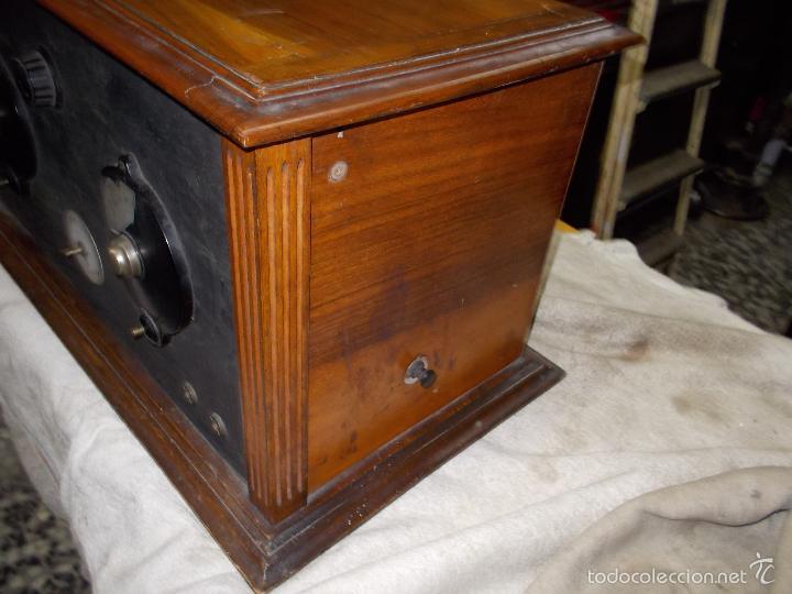 Radios de válvulas: Radio cofre años 20 - Foto 16 - 56535279